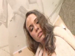 Hannah West Gets Banged In The Bathtub.