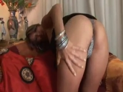 Bianca gets fucked by a black cock.