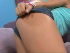 Brianna Beach Gets A Load On Her Hot Ass.