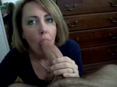 Cum in Mouth at Horny Wife