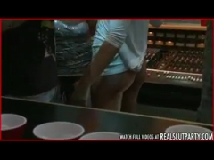 Gangbang in a Recording Studio