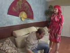 Skinny Redhead wants A Cock.