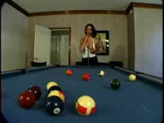 Pool table paradise.