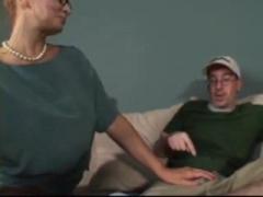 Teacher having sex with her student.