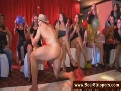 Male strippers also pfovide facials.