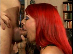 Red head MILF hardcored.