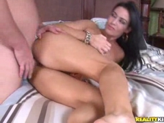 Busty MILF slammed hard and fast     .