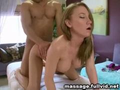 massaged and fucked.