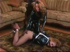 Two babes Have A Bondage Fetish!.