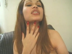 Precious latina gives hot  blowjob.
