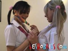 Sexy Lesbian Schoolgirls.