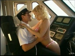 Jenna jameson having sex with the captain.