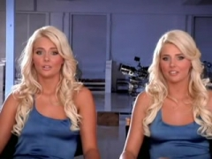 Lesbian blonde twins.
