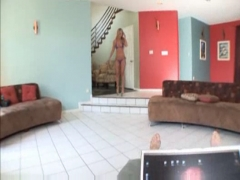Pov hot blonde blowing like a pro.