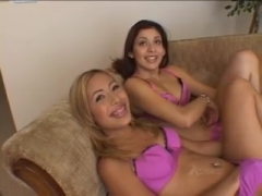Kat and Chanel Chavez FFM anal and swapping cum.