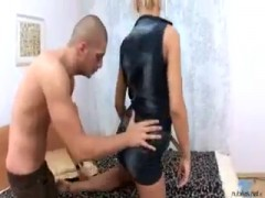 Horny young model Liuba fucks her lover.