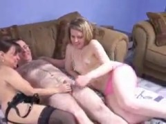 Bi MILFs Get Banged By One Stud.