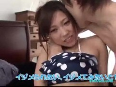 Asian girl massaged with oil pussy licked on the bed.