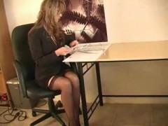 Shelly - sexy secretary.