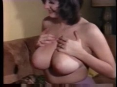 Natural busty retro beauty sucking fucking and swallowing -.