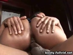 Black anal threesome.