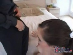 Sasha grey fucked hard on bed.