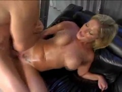 Great bodied chick takes it in the ass.