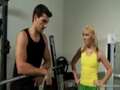 Ally kay - teens like it big - humping iron.