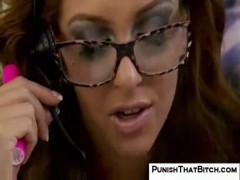 Stephanie punished for bad customer service.