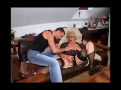 old slut fucked by a pervert young cock.
