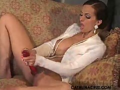 Catalina Cruz Polishing My Pearls.