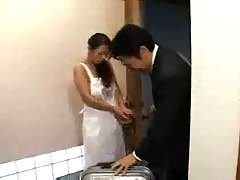 Japanese wife got forced very hard! 2.