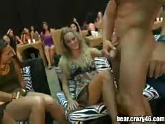 Blowjob orgy on party.