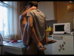 Young Russian Couple Makes a Home Movie. enjoy.