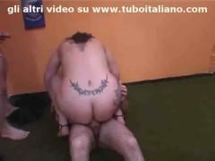 Porca italiana trombata - italian amateur fucked.