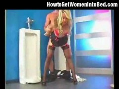 Kayden kross fucked in the bathroom.