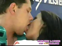 Black-haired babe get anal fuck-1.