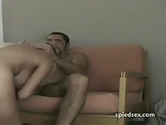 Spy cam blonde hot sex.