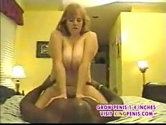 Blonde and red head eat by bbc threesome part2.
