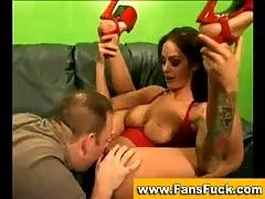Pornstar angelina valentine gives blowjob.