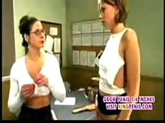 After school with mature lesbian hardcore part1.