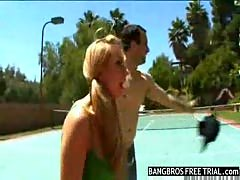 Lexi belle on a wild blind date.