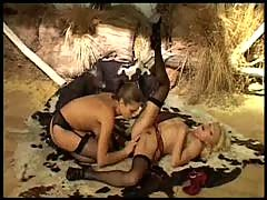 Clara Morgane and Nomi - Lesbian scene.