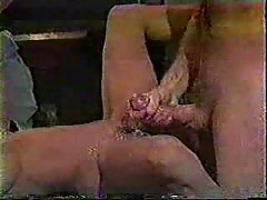Manmeat satisfying slut's uncurable sperm addiction.