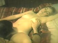 Hairy Girlfriend Pussy licked.