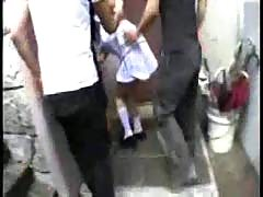 Japanese lady forced.