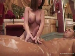 Wet holly west massage.