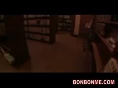 Lolita girl nasty nude fucked in net cafe 1