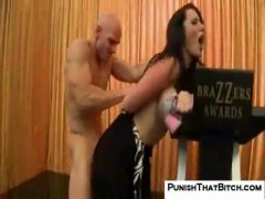 Jayden jaymes punished back stage