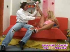 Blond chick gets it up the ass2